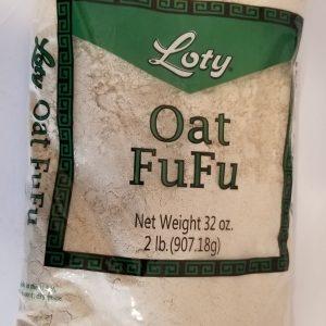 Oat Fufu