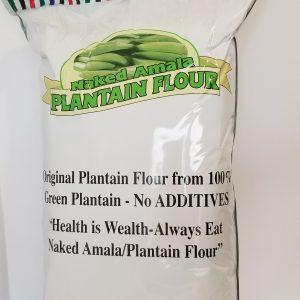 Naked Amala Plantain Flour