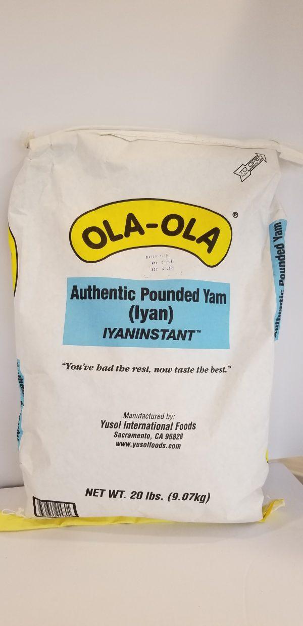 Ola - Ola Authenric Pounded Yam (Iyan)